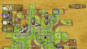 carcassonne xbox one getting strategic with carcassonne title added to