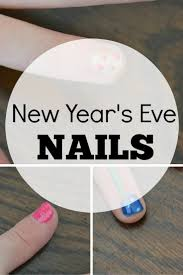 fun easy new year u0027s eve nails for kids babycenter blog