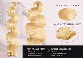 weft hair extensions remy weft weave hair extensions in 10 to 30 free shipping