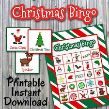 printable christmas bingo cards pictures christmas bingo cards and memory game printable up to 30 players