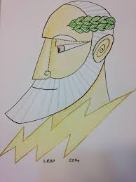 40 drawings in 40 days u2013 4 u2013 zeus a pict in pa