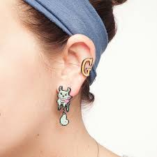 girl earrings adorn your ears with these squirrel girl earrings