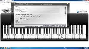 how to play the piano via computer keyboard youtube