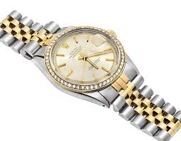 bracelet diamond watches images Rolex datejust 18k stainless steel two tone jubilee bracelet jpg