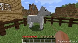 How To Build A Horse Barn In Minecraft How To Use A Lead On A Horse In Minecraft