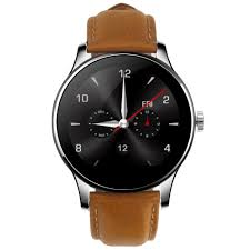 waterproof bluetooth k88h smart watch siri calculator rate