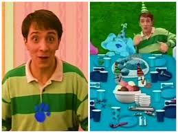 yesterday was blue u0027s clues u0027 20th birthday but you u0027ll never guess
