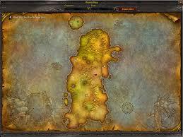 kalimdor map map of kalimdor explain scrolls of lore forums