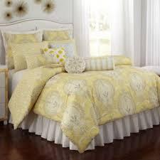 buy yellow grey comforter from bed bath u0026 beyond
