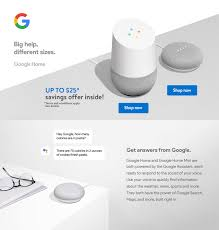 google home design google mini google home educational page