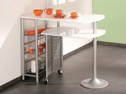 table de cuisine avec rangement table de cuisine haute avec rangement maison design bahbe com