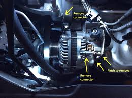 diy r18 water pump replacement including alternator and tensioner