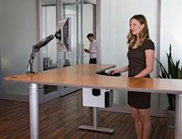 Sit Stand Desks Populas Vox Corner Height Adjustable Electric Sit Stand