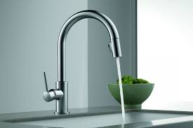 portsmouth 2 handle high arc kitchen faucet with side spray with