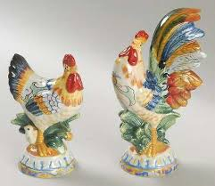 ricamo accessories figurine salt and pepper set by fitz floyd