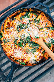 one pot protein pasta fresh off the grid