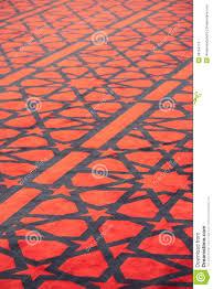 teppich mit sternen teppich mit sternen in der arabischen moschee lizenzfreie