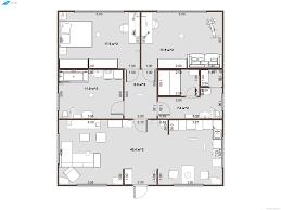 planoplan com 2bedroom2bathroom under 100 sq m smallhouseplan