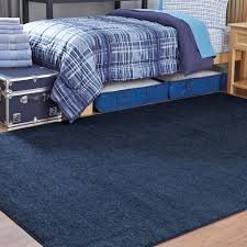 Area Rug 6 X 9 Navy 6 X 9 Solid Area Rug Room Decor Ocm