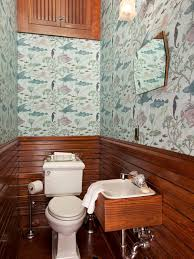 wallpaper designs for bathrooms small bathroom wallpaper houzz