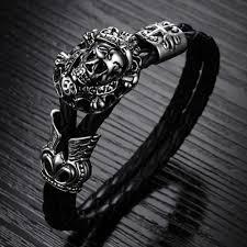urban skeleton ring holder images Men bracelets the urban fest estore jpg