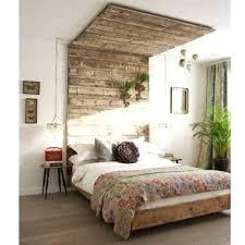 chambre palette cabane construite avec des palettes pour une chambre d cabane