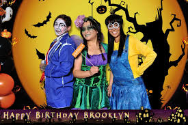 Halloween Happy Birthday by Brooklyn U0027s Halloween Birthday Backdrop Step And Repeat Lastep