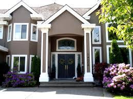 Home Design Exterior Color Schemes Brick Home Designs Ideas