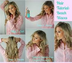 hair tutorials for medium hair 27 easy beachy waves tutorials for hair the goddess