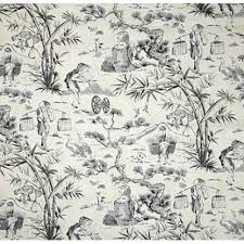 Waverly Home Decor Fabric Charmed Life Toile Cornflower Blue And Ivory Home Decor Fabric By