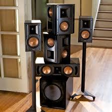 klipsch quintet home theater system standard home cinema system indoor 5 1 rb 51 ii klipsch