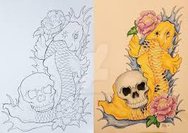 21 koi fish design and ideas