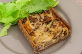 chataignes recettes cuisine tarte aux cèpes châtaignes et jambon kilometre 0 fr