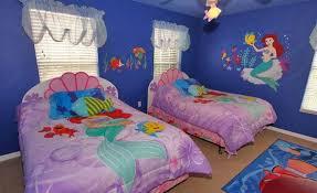 themed headboards bedroom girl mermaid bedroom in pink comfort bed with