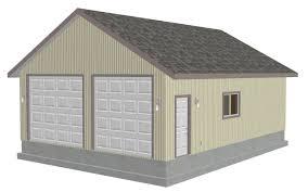 Rv Garage 28 X 38 12 Garage Plans With Bonus Storage Sds Gar Luxihome