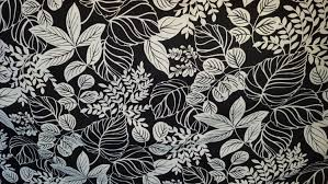 black and white print floral drapery upholstery fabric home decor