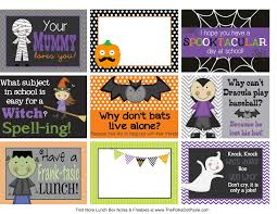 8 best images of halloween lunch box printables halloween lunch