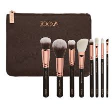 zoeva rose golden makeup brushes 8 pcs face eyes cosmetic tools