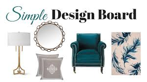 home design board decorating tip how to create a simple design board for home