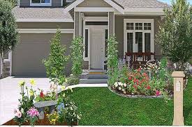 Landscape Ideas Front Yard by Front Yard Modern Landscaping Ideas Simple Modern House With Porch