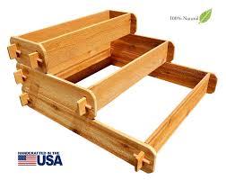 Raised Garden Beds Kits 3 Tier Raised Garden Bed Kits For Sale Timberlane Gardens