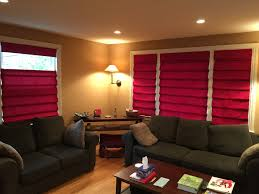 Red Roman Shades Roman Shades Blinds Brothers Philadelphia