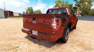 Ford Raptor Fire Truck - f 150 svt raptor v1 1 for american truck simulator