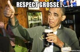 Respect Meme - respect grosse upvote obama make a meme