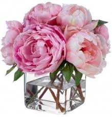 artificial peonies silk peonies arrangement foter