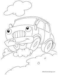 funny car coloring pages download free funny car coloring pages