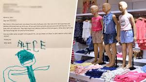 gap thanksgiving 5 year old asks gap to sell u0027cool u0027 clothes for girls today com