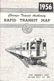 Cta Map Chicago Illinois Railway Museum U0027s Cta History Website