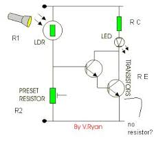 automatic night light with sensor automatic night light electronics forum circuits projects and