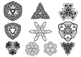 celtic ornaments vector pack free vector stock